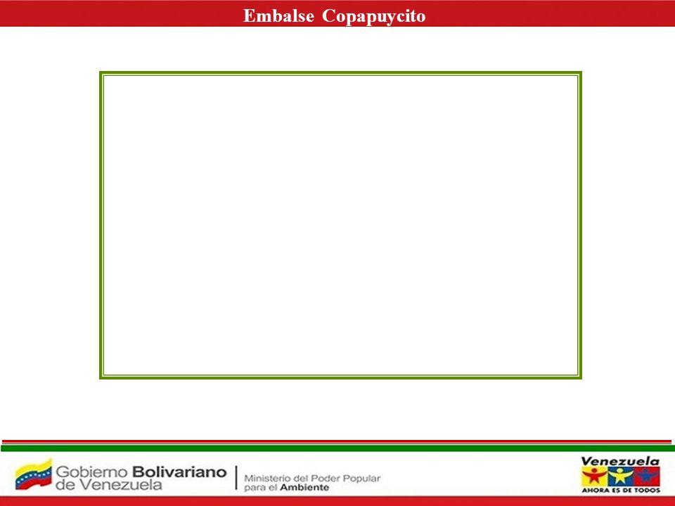 EMBALSE COPAPUYCITO Nombre de la Presa: Copapuycito ESTADO BOLIVAR IDENTIFICACION: Ubicación: Sobre el Río Copapuycito, a 3 km de la ciudad de Upata Estado Bolívar.