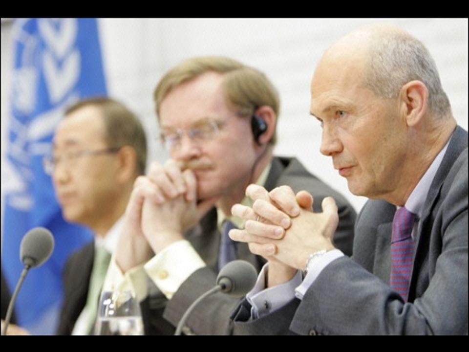 De momento, ya ha pedido a los gobiernos, con el apoyo de Ki-moon - Secretario General de la ONU- y Pascal Lamy -Director General de la OMC-, que no t
