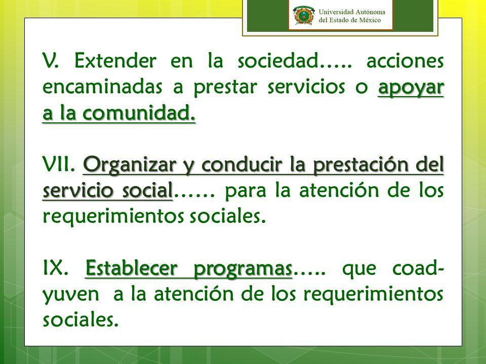 Estatuto En el Estatuto de la Universidad Autónoma del Estado de México (1996) se establece.
