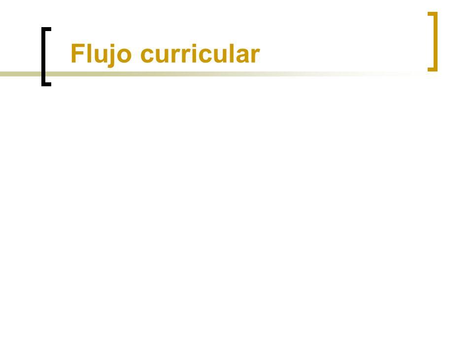 Flujo curricular