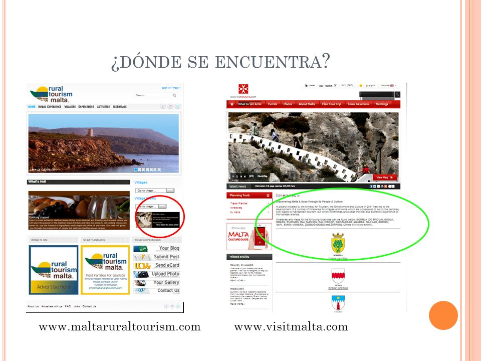¿ DÓNDE SE ENCUENTRA www.maltaruraltourism.comwww.visitmalta.com