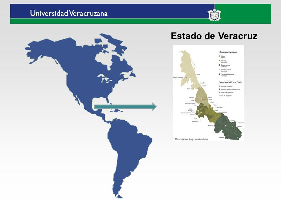 Universidad Veracruzana Universidad Veracruzana Intercultural Sedes-Región Intercultural Huasteca (Ixhuatlán de Madero) Totonacapan (Espinal) Grandes Montañas (Tequila) Las Selvas (Huazuntlán municipio de Mecayapan)