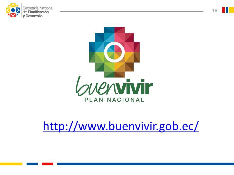 18 http://www.buenvivir.gob.ec/