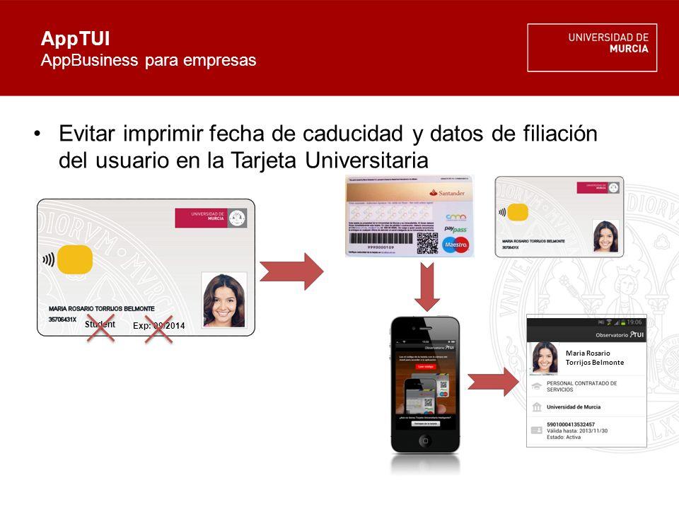 AppTUI Conclusiones Aplicación gratuita para Smartphones.