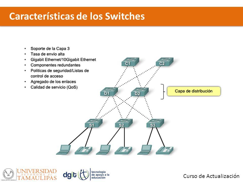Características de los Switches Curso de Actualización