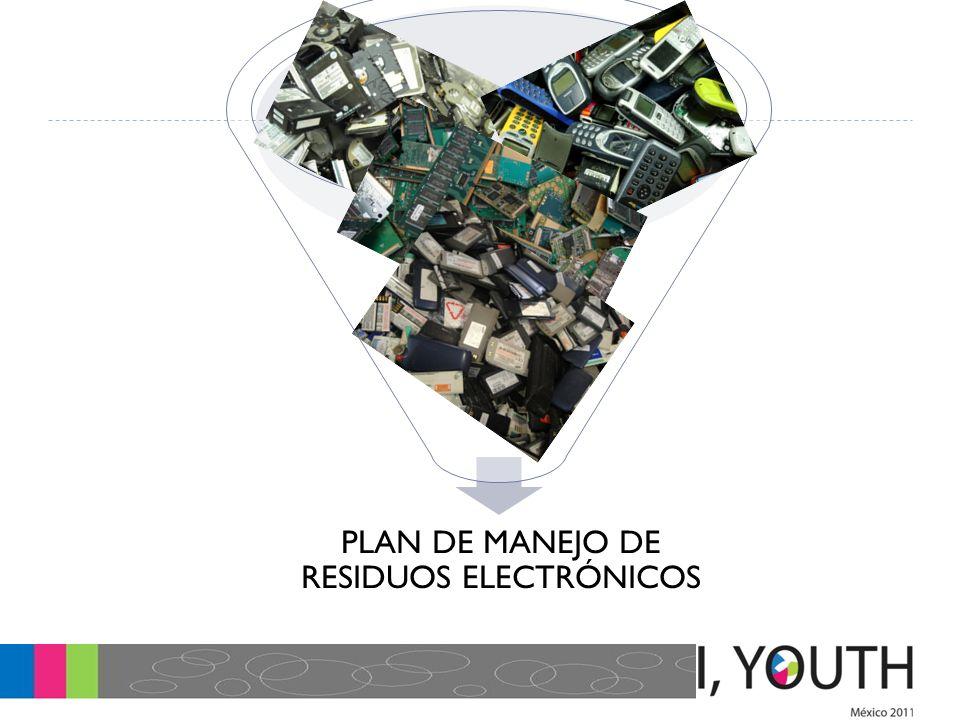 PLAN DE MANEJO DE RESIDUOS ELECTRÓNICOS