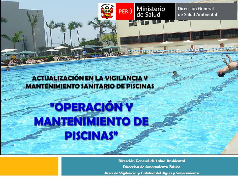 Dirección General de Salud Ambiental Dirección de Saneamiento Básico Área de Vigilancia y Calidad del Agua y Saneamiento
