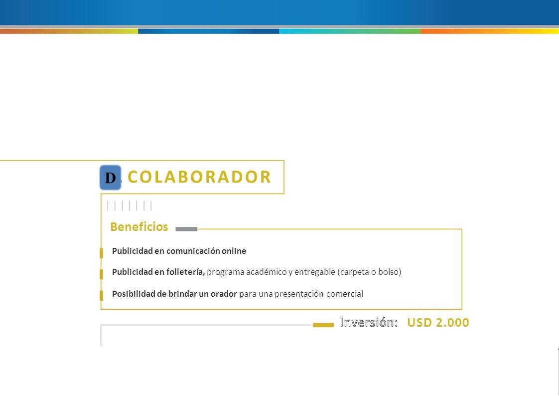 XII Jornadas Latinoamericanas y Encuentros Sectoriales de la Industria del Caucho Beneficios Publicidad se refiere a la aplicación del isologotipo de la empresa en las piezas mencionadas.