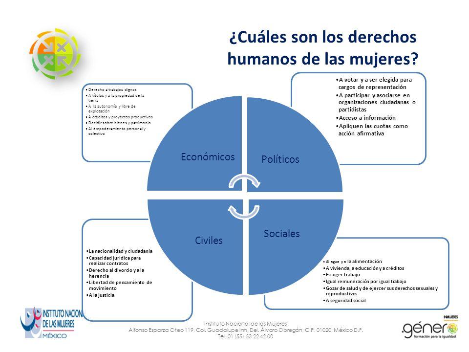 ¿Cuáles son los retos y desafíos.Instituto Nacional de las Mujeres Alfonso Esparza Oteo 119, Col.
