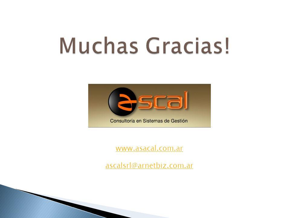 www.asacal.com.ar ascalsrl@arnetbiz.com.ar