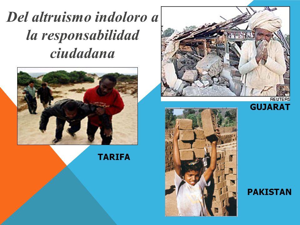 Del altruismo indoloro a la responsabilidad ciudadana GUJARAT TARIFA PAKISTAN