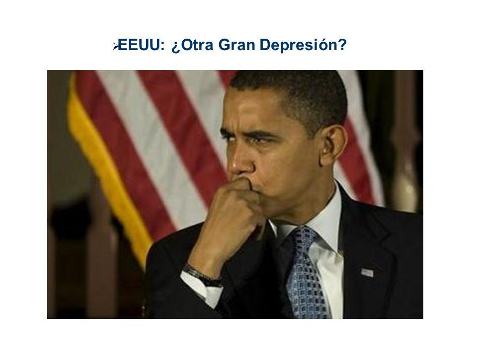 EEUU: ¿Otra Gran Depresión?