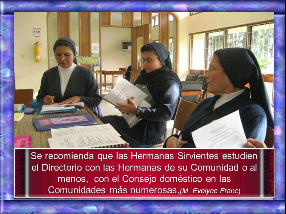 ….El Directorio es una herramienta diseñada para conducir el trabajo que debe realizar la cdad. local reunida en Asamblea doméstica.