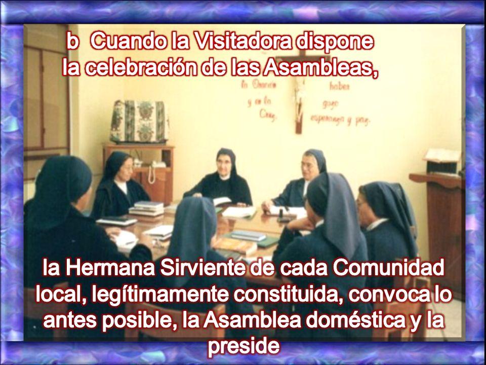 a La Asamblea doméstica se convoca como preparación a una Asamblea provincial. C. 85