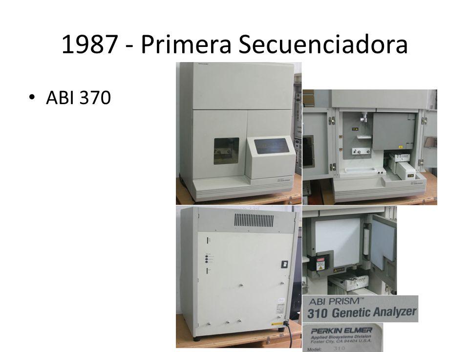 1987 - Primera Secuenciadora ABI 370