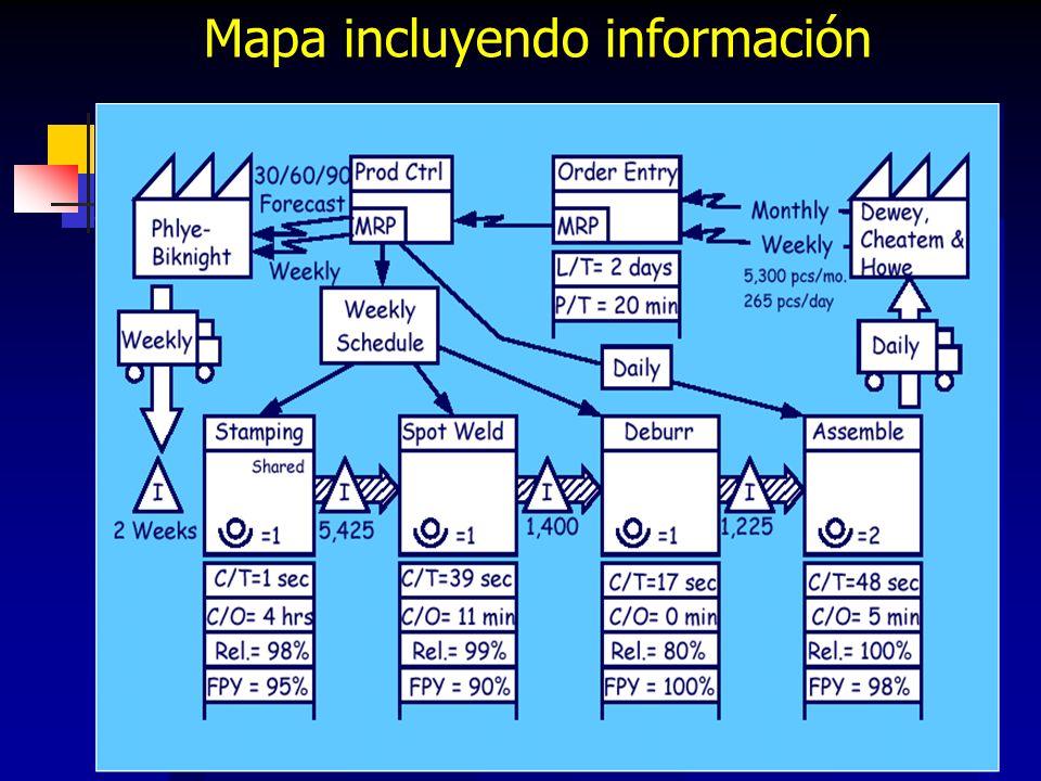 95 Mapa incluyendo información