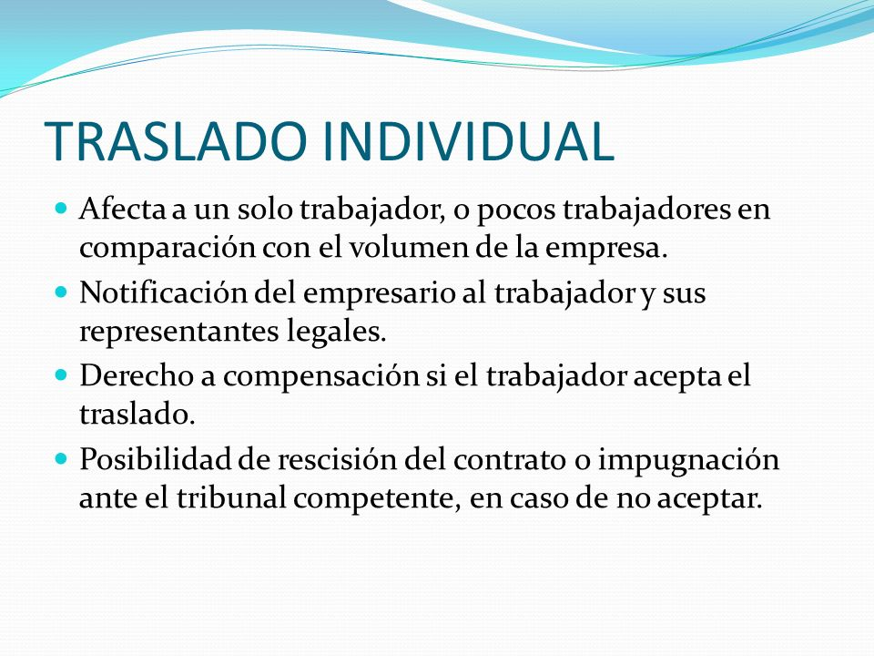 TRASLADO COLECTIVO Art.40.2 ET.
