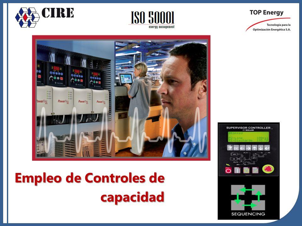 Empleo de Controles de capacidad