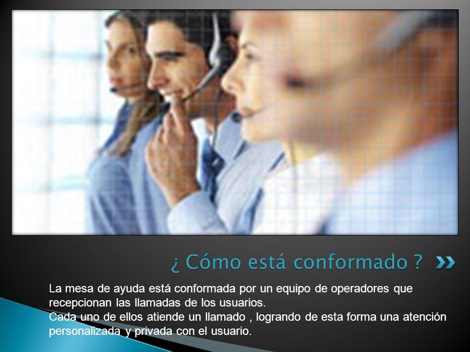 Al momento de realizar una consulta, el usuario deberá tener el equipo a su alcance, por si es necesario realizar alguna prueba IMPORTANTE