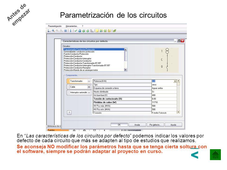 Ejemplo Práctico paso a paso Distribución Primaria de Potencia Distribución Secundaria de Potencia >