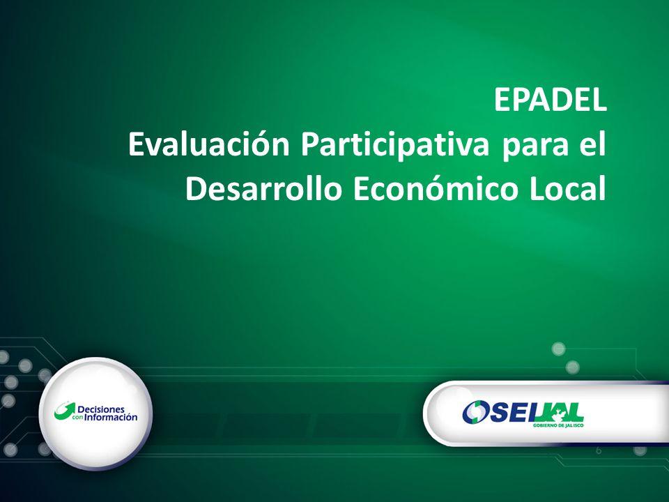 EPADEL Evaluación Participativa para el Desarrollo Económico Local