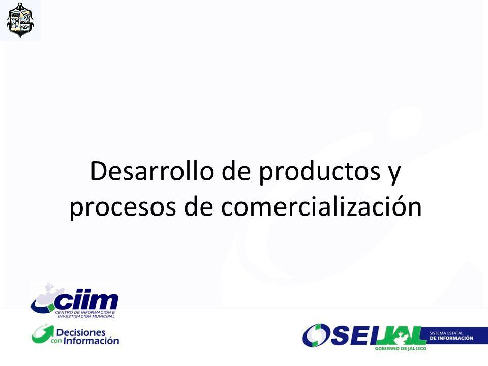 Desarrollo de productos y procesos de comercialización
