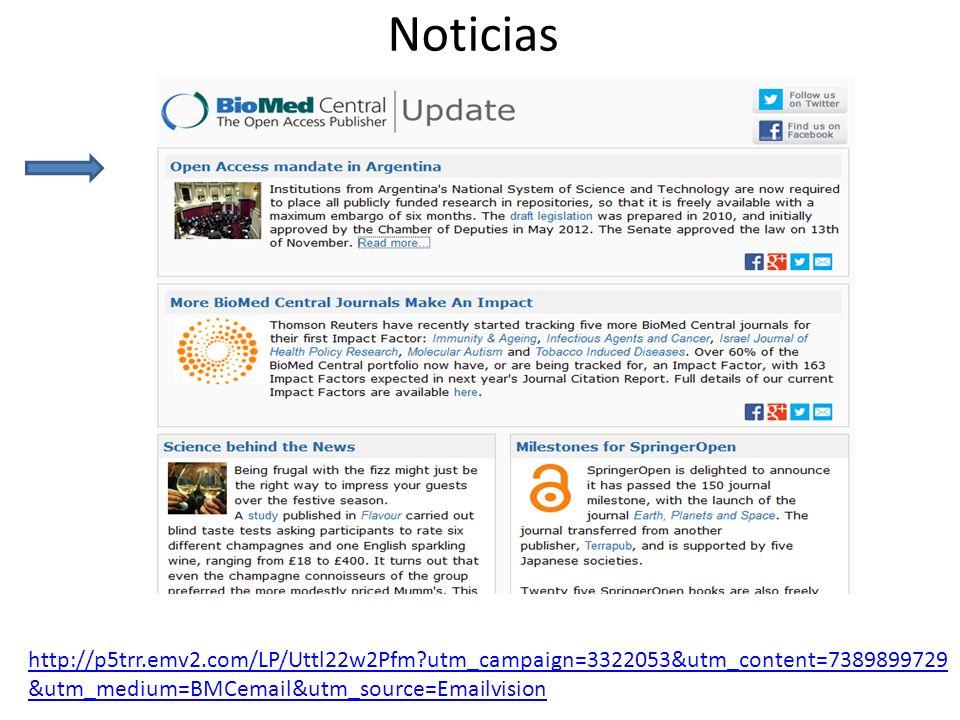 Noticias http://p5trr.emv2.com/LP/Uttl22w2Pfm utm_campaign=3322053&utm_content=7389899729 &utm_medium=BMCemail&utm_source=Emailvision
