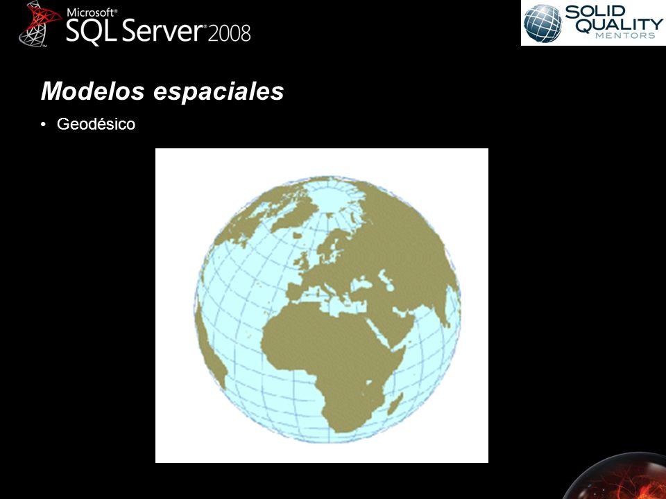 Modelos espaciales Geodésico