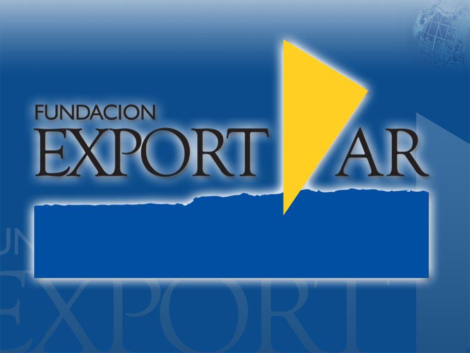 Fundación Export.Ar – www.exportar.org.ar PRESENCIA ARGENTINA EN LOS MERCADOS EXTERNOS
