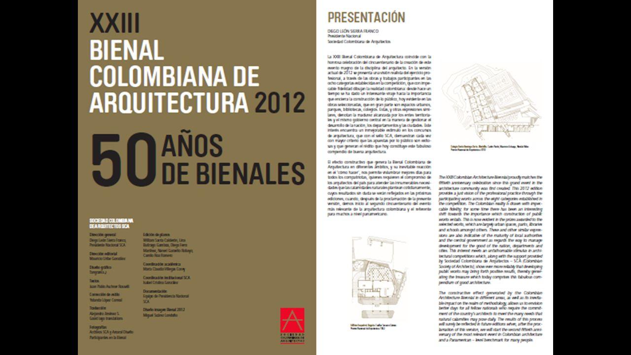 PROPUESTAS A LA ASAMBLEA NACIONAL CONSTITUYENTE La Sociedad Colombiana de Arquitectos constituyó una Mesa de trabajo para canalizar las inquietudes y propuestas de los arquitectos ante la Asamblea Nacional Constituyente de 1991.