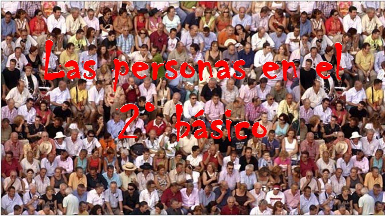Las personas en el 2° básico