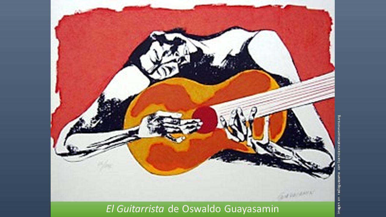El Guitarrista de Oswaldo Guayasamin Imagen en radioguayama con licencia creativecommons.org