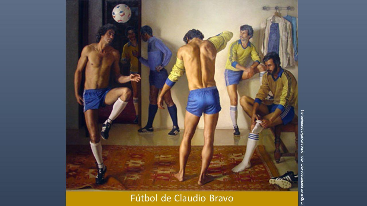 Fútbol de Claudio Bravo Imagen en martamoro.com con licencia creativecommons.org