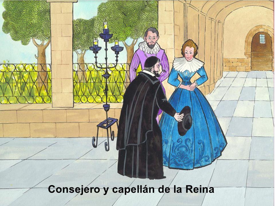 Consejero y capellán de la Reina