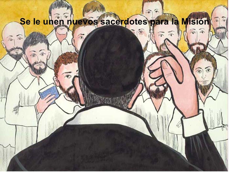 Se le unen nuevos sacerdotes para la Misión
