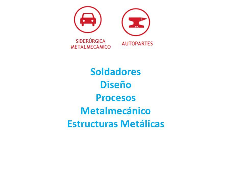 Soldadores Diseño Procesos Metalmecánico Estructuras Metálicas