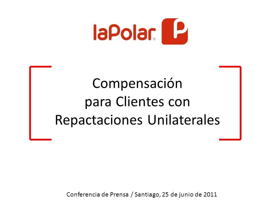Desarrollo Propuesta Conferencia de Prensa / Santiago, 25 de junio de 2011