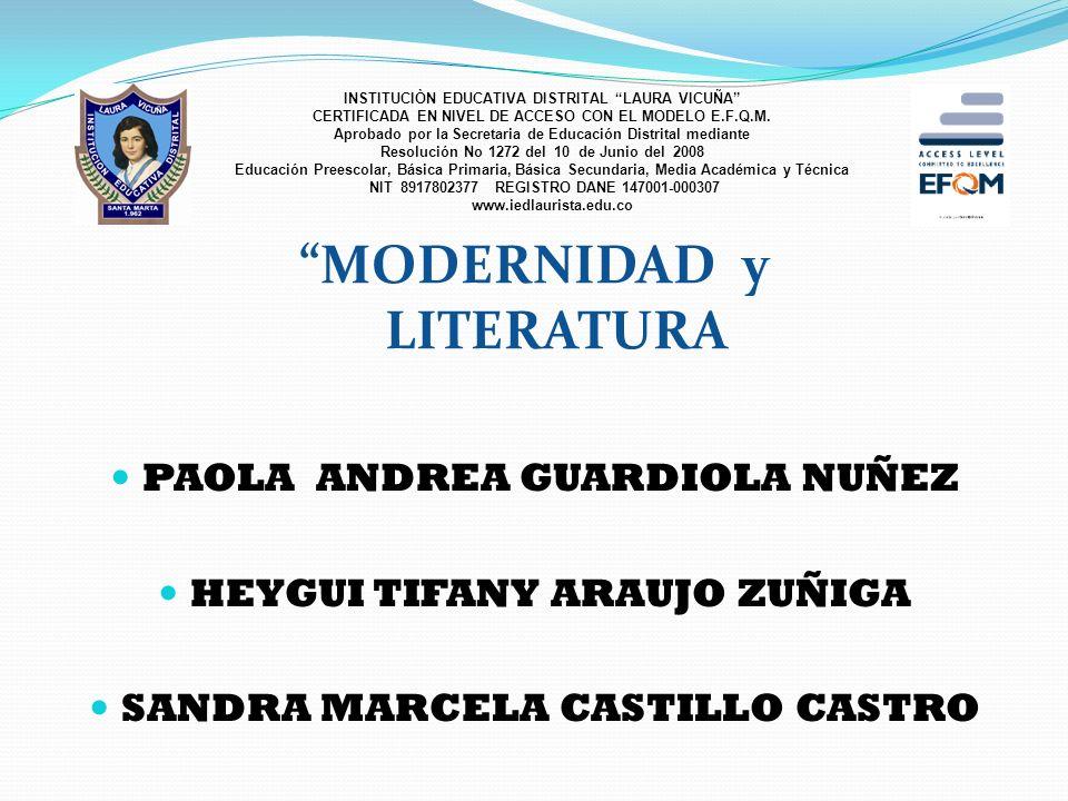 ESCRITORA COLOMBIANA LAUREN MENDINUETA Presentación de Luisa Rosentiehl INSTITUCIÒN EDUCATIVA DISTRITAL LAURA VICUÑA CERTIFICADA EN NIVEL DE ACCESO CO