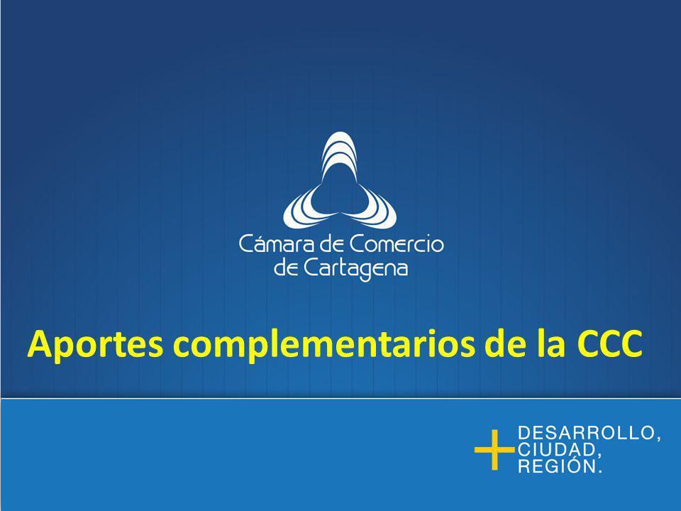 Aportes complementarios de la CCC