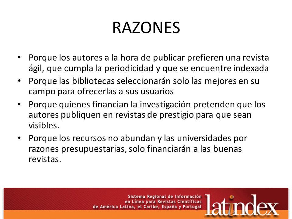 ANTECEDENTES El Grupo de Trabajo para la Selección de Revistas Científicas Latinoamericanas (1964) Auspiciado por UNESCO, se reunieron en la UPR, Río Piedras.