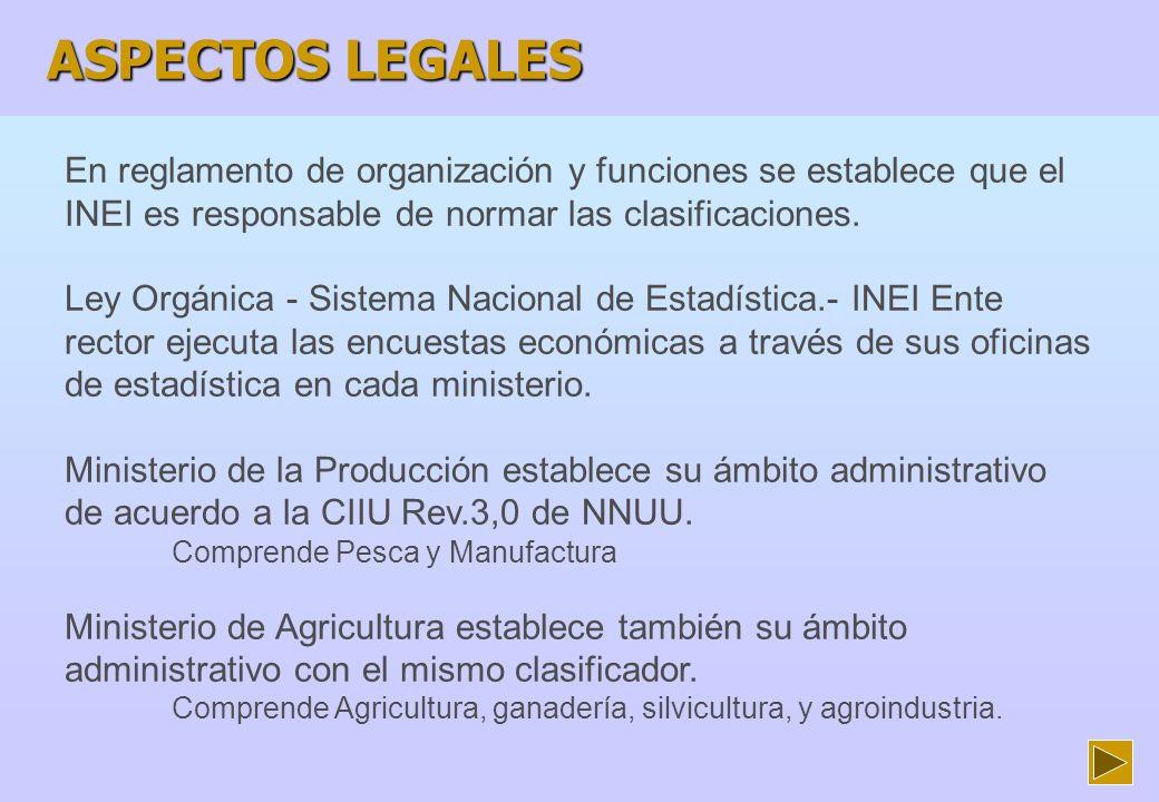 OTRAS NORMAS Ministerio de Energía y Minas obliga a empresas que distribuyen la energía eléctrica asignar la clase CIIU Revisión 3,0 a todos sus usuarios, por suministro eléctrico.