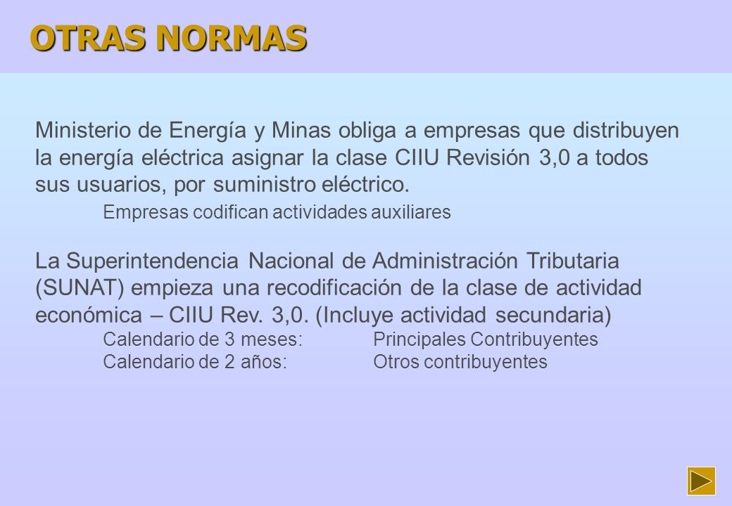ACCIONES EN ULTIMOS 12 MESES 1 SEMINARIO SOBRE LA CIIU Rev.