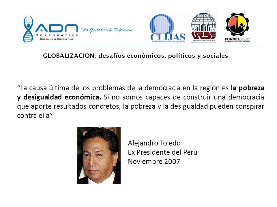La Gente hace la Diferencia El 60% de los ciudadanos de los países latinoamericanos están dispuestos a apoyar gobiernos autoritarios o de fuerza, si é