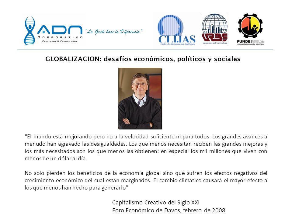 La Gente hace la Diferencia En América Latina hay cierta creencia de que una empresa es responsable si paga sus impuestos y cumple con las leyes. La d