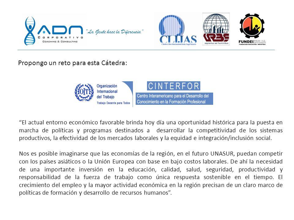 La Gente hace la Diferencia América Latina: Una Región Emergente Población:293 millones Área:9,2m Km 2 PIB: US$10,8 trillones Población:395 millones Á