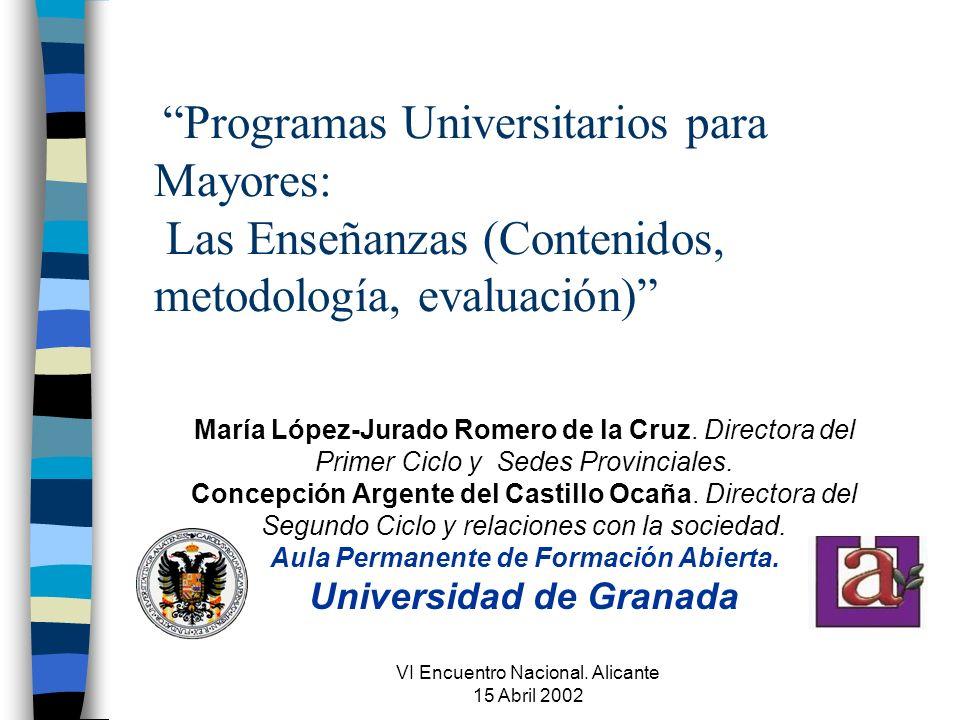 VI Encuentro Nacional.