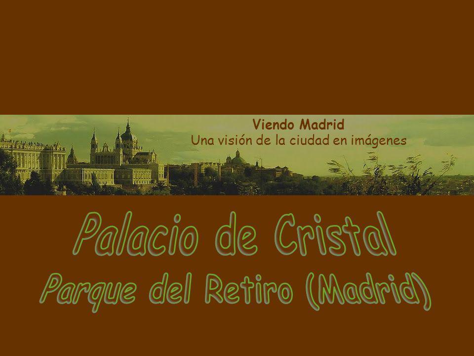 Desde el punto de vista de su arquitectura, el Palacio de Cristal se puede considerar como un ejemplo notorio de lo que fue la arquitectura del hierro en España.