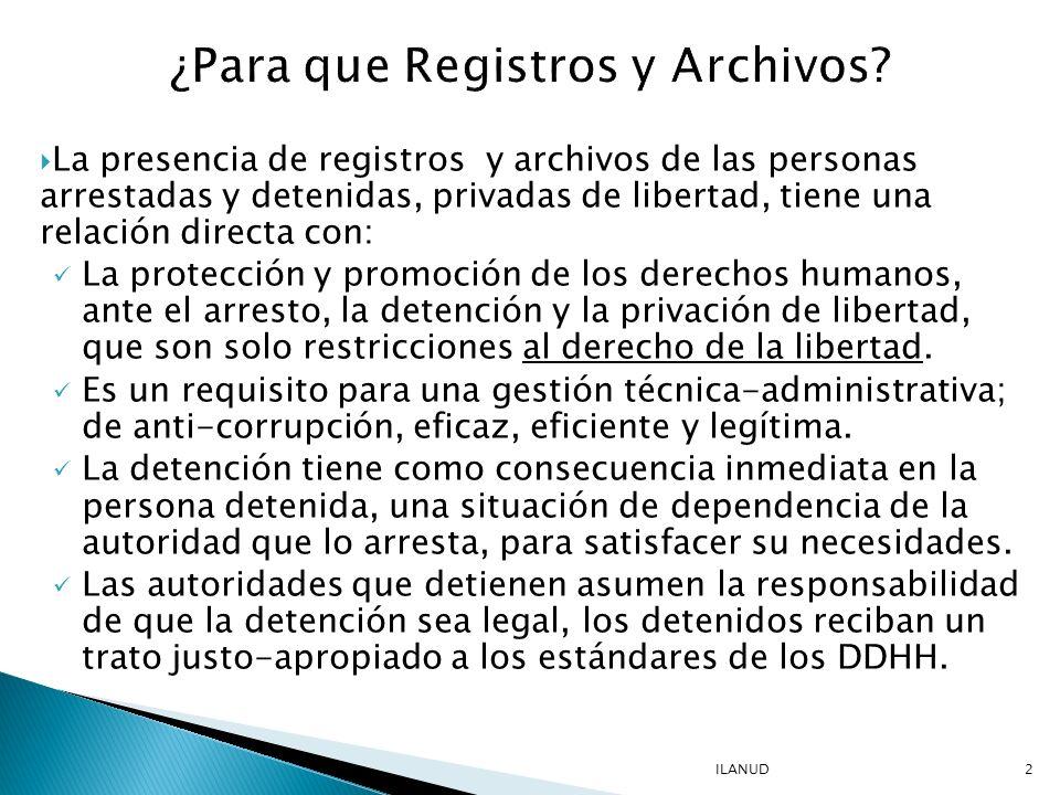 Las instituciones que asumen la administración del arresto y detención de las personas, suelen tener graves limitaciones de recursos humanos y presupuestarios.