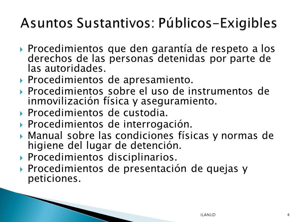 Mecanismo de Control de qué Del cuido de la persona Del cuido de los bienes personales De la transparencia del uso de fondos públicos Del cumplimiento de las autoridades de su responsabilidades