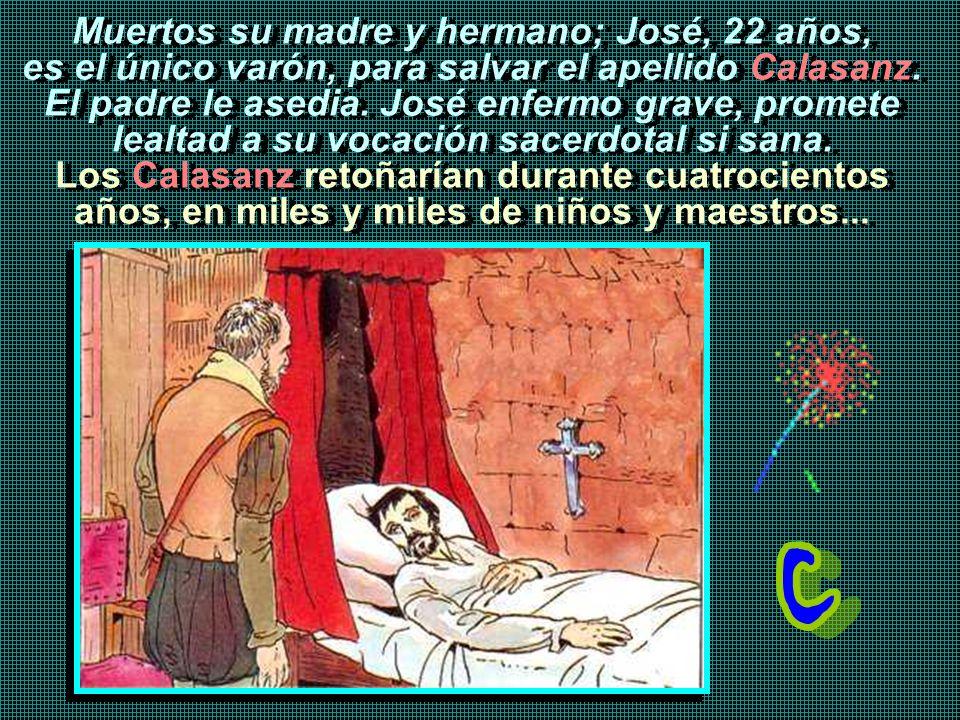 En Valencia, ante las insinuaciones de una joven apuesta, José que mantiene la vocación al sacerdocio, ante María, renueva su compromiso y vuelve a Pe